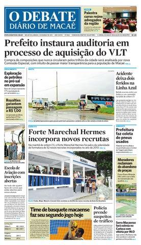 Noticiário - Jornal O Debate de Macaé by O DEBATE Diario de Macae ... fb69f5b877