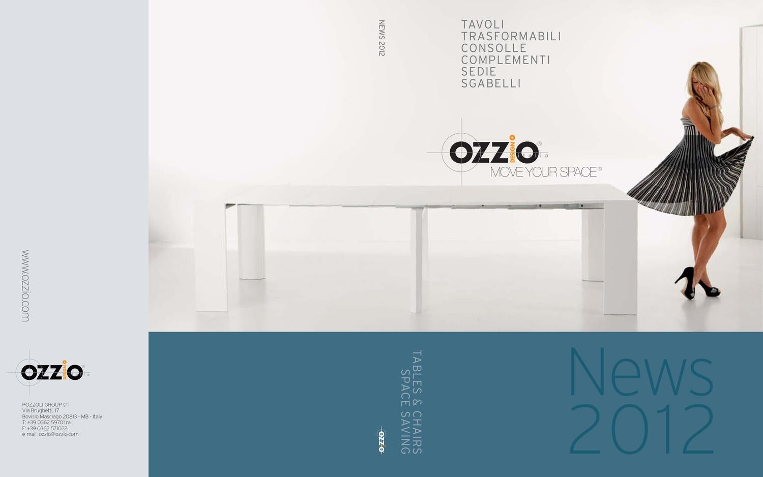 Ozzio news 2012 diffusipro by diffusipro suisse issuu