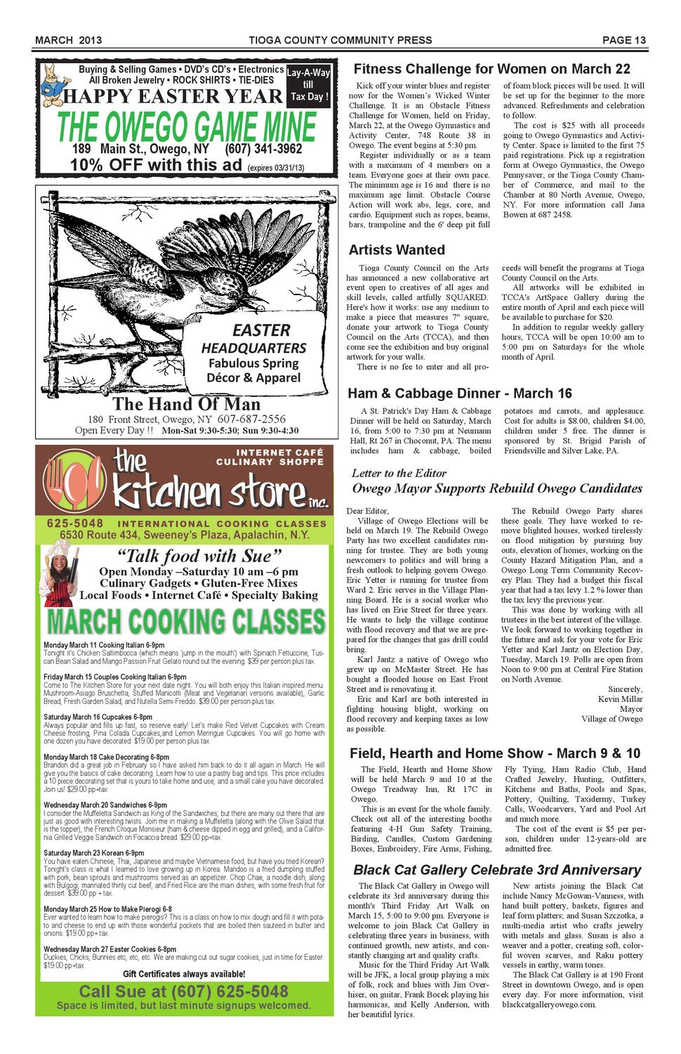 March 2013 Community Press By Fred Brown Issuu