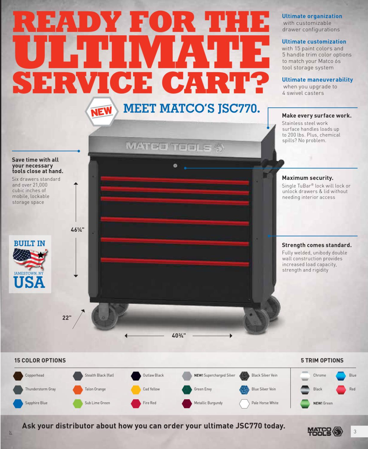 Matco Tools Sales Promo Flyer 5 By Bill Amereihn Issuu
