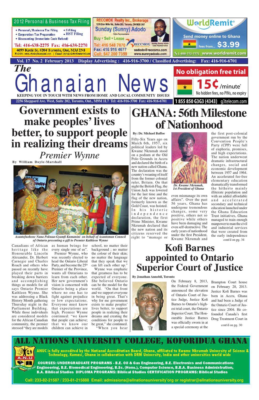 Ghanaian News - February 2013 Edition by Emmanuel Ayiku - issuu