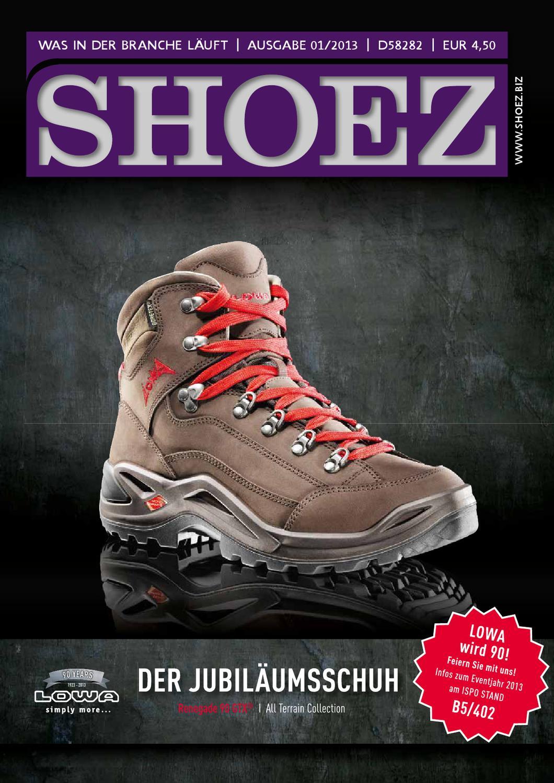 Shoez Ausgabe Januar 2013 by SHOEZ – Das Fachmagazin für die