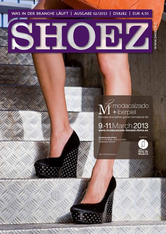 Shoez Ausgabe Februar 2013 by SHOEZ – Das Fachmagazin für