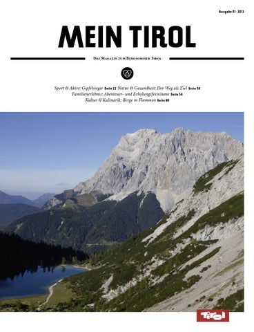 ddd199e6aa Mein Tirol (Bergsommer) 01/2013 by Tirol - Herz der Alpen - issuu