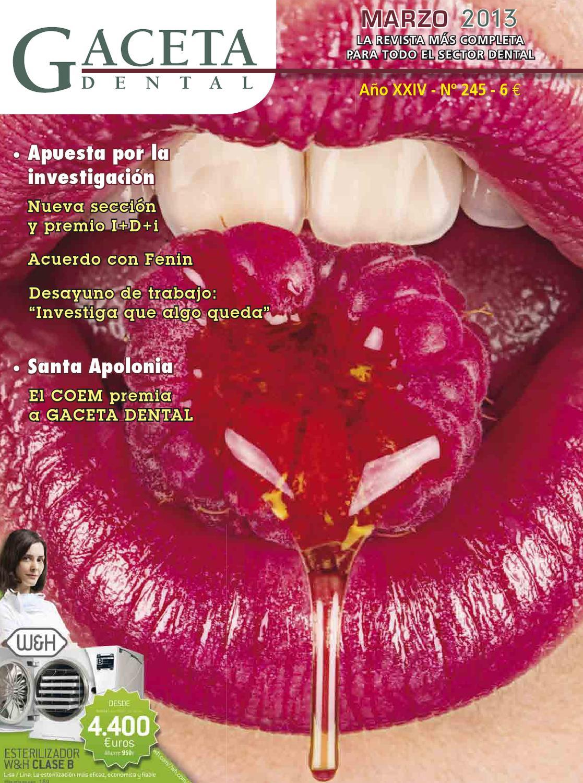 Gaceta Dental - 245 by Peldaño - issuu