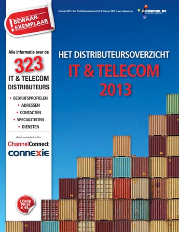 634e7b31103 Het distributeursoverzicht IT & Telecom 2013 by Magenta - issuu