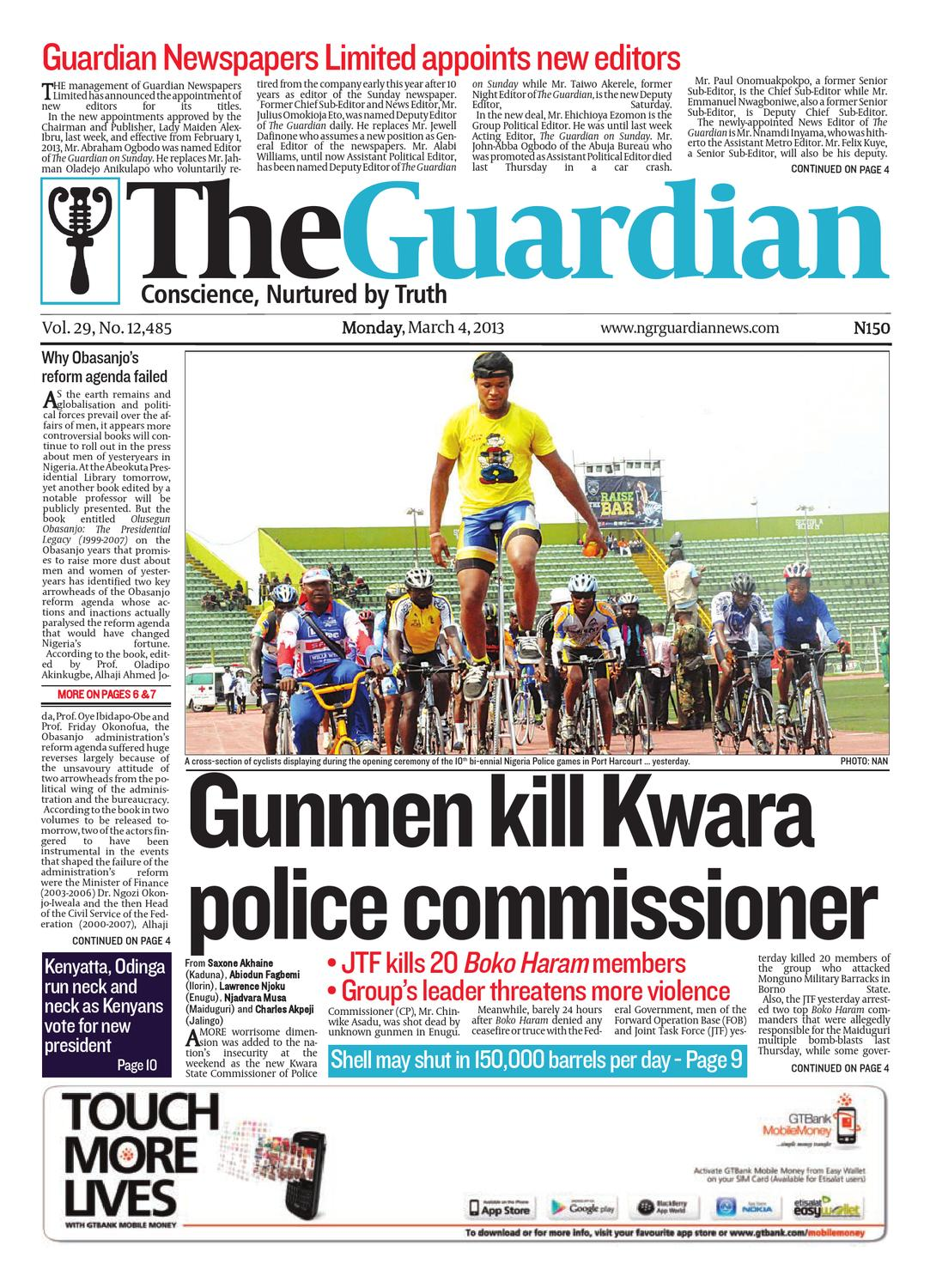 Monday 04 Mar 2013 The Guardian Nigeria by The Guardian Newspaper - issuu ed1cce5a35903