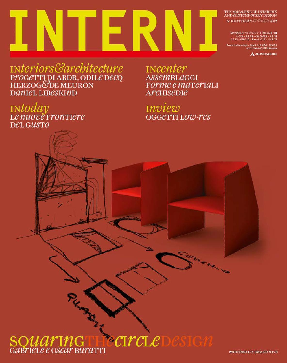 Spazio Casa Azzano X interni magazine 625 by interni magazine - issuu