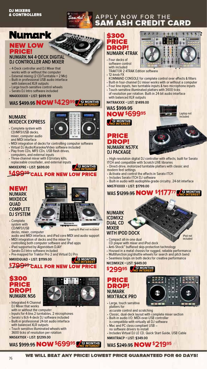 March 2013 GearGuide from Sam Ash by Sam Ash Music Corp  - issuu