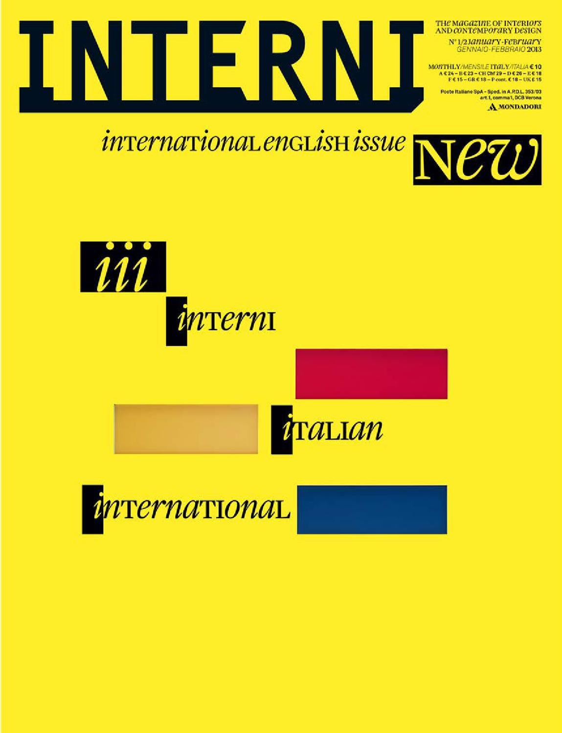 Anna Stilo Arredamenti interni magazine 628 by interni magazine - issuu