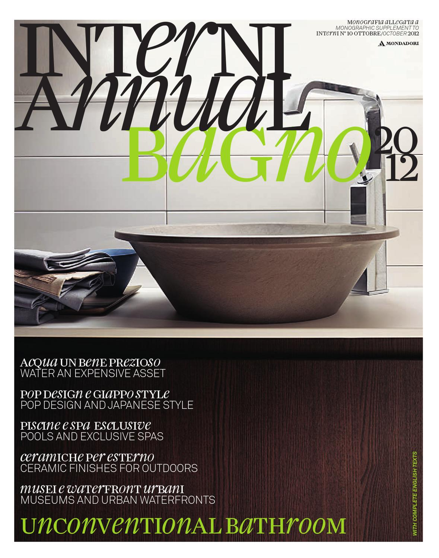 Andolina Ceramiche Arredobagno Srl.Interni Annual Bagno 2012 By Interni Magazine Issuu