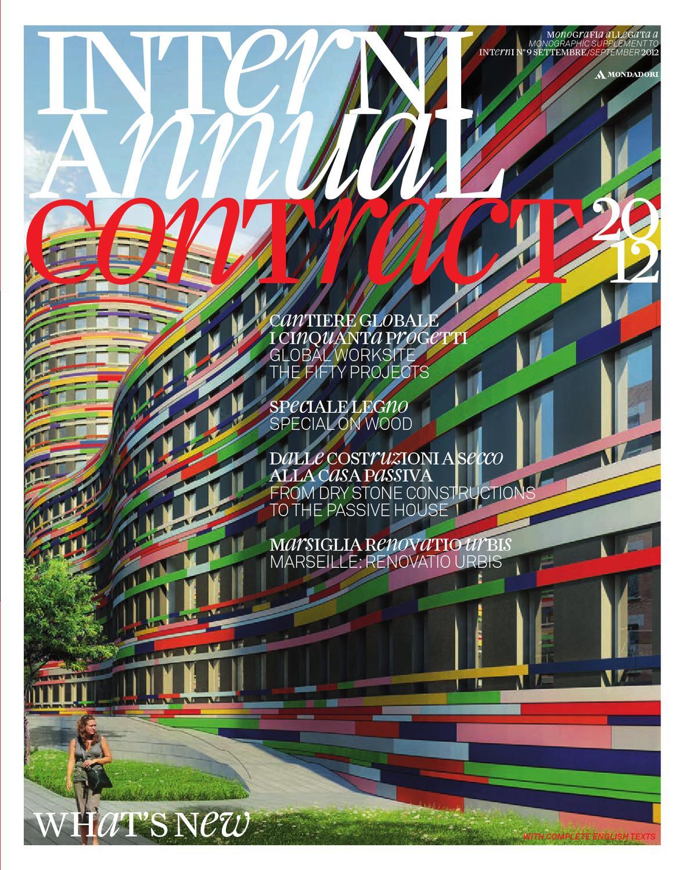 Di Pinto Bisceglie Materiale Edile interni annual contract 2012 by interni magazine - issuu