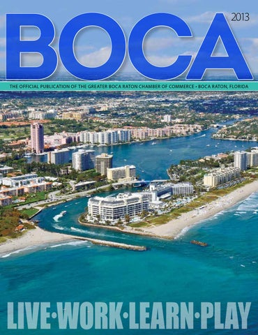 ab394d490e1e Greater Boca Chamber of Commerce Annual by JES Media - issuu