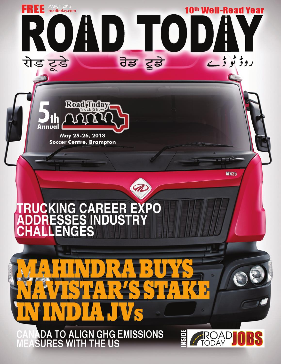 Road Today MAR 2013 by Road Today - issuu