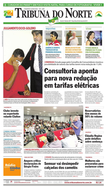 Tribuna do Norte - 05 03 2013 by Empresa Jornalística Tribuna do Norte Ltda  - issuu 1cf2d1c8c8c78