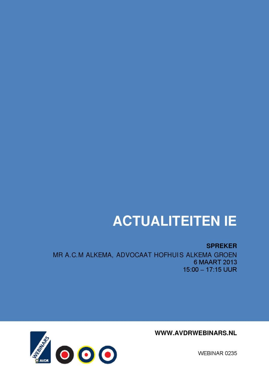 Avdr Webinars By Academie Voor De Rechtspraktijk Issuu