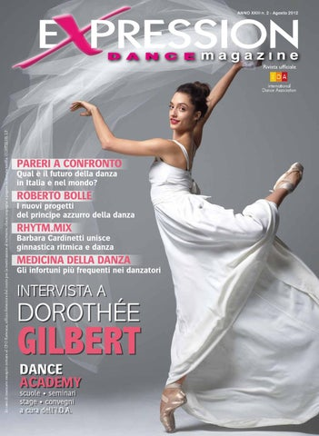 Expression Dance Magazine Agosto 2012 by IDA International Dance ... 2ccff8bf86b5