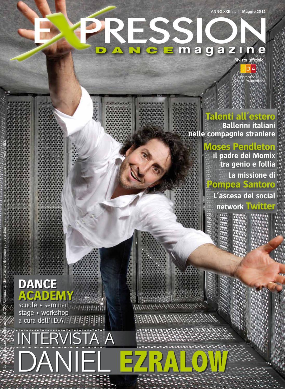 Expression Dance Magazine Maggio 2012 by IDA International Dance  Association - issuu 54249f6afa6