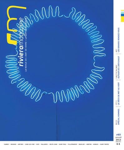 Magazine Juilletaoût By N°60 Issuu 2012 Riviera qgEdq