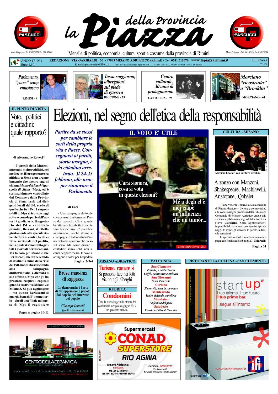 2013 - 02 | La Piazza delle Province di Rimini e Pesaro by La Piazza ...