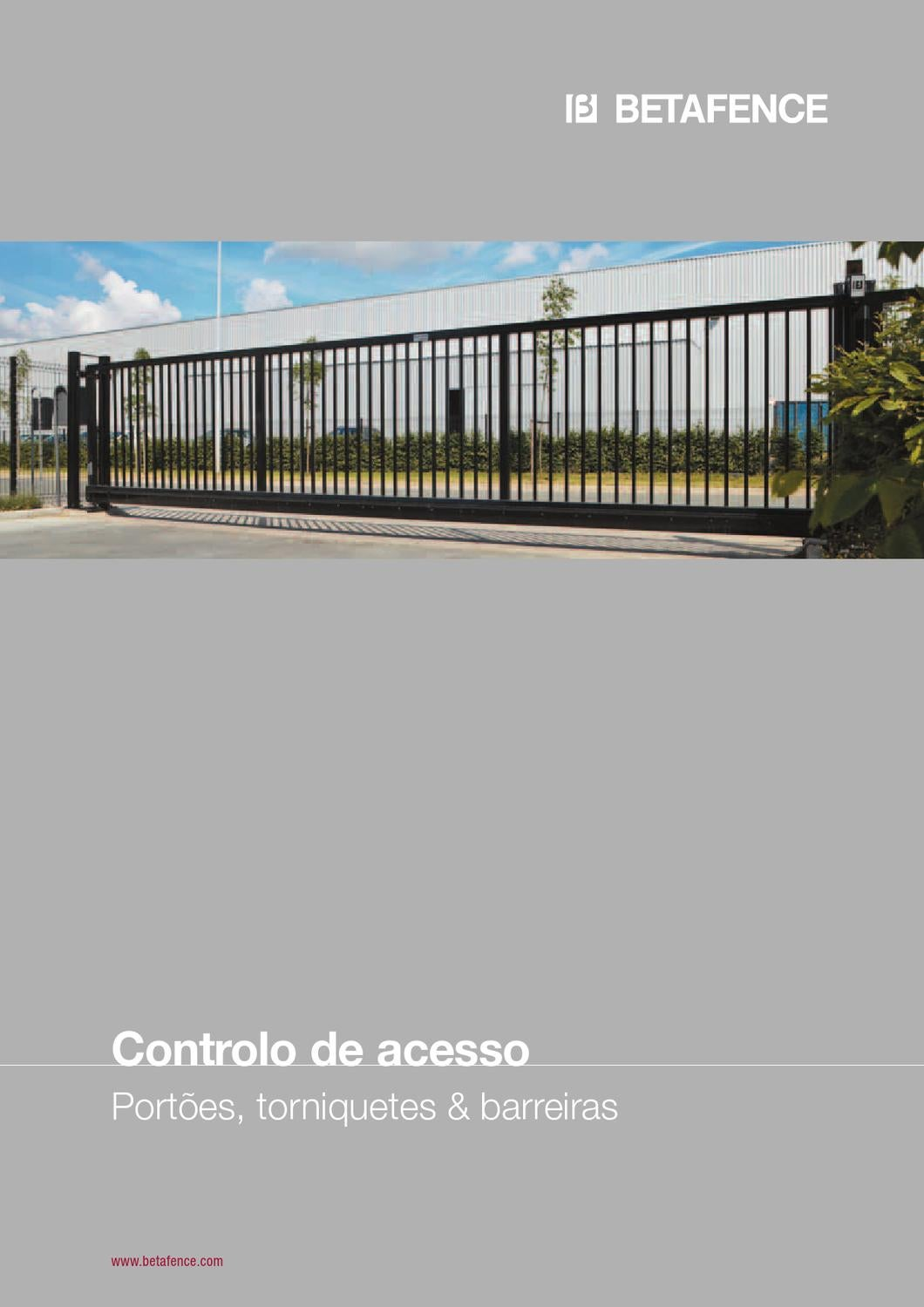 controlo de acesso 2013 by betafence corporate services nv. Black Bedroom Furniture Sets. Home Design Ideas