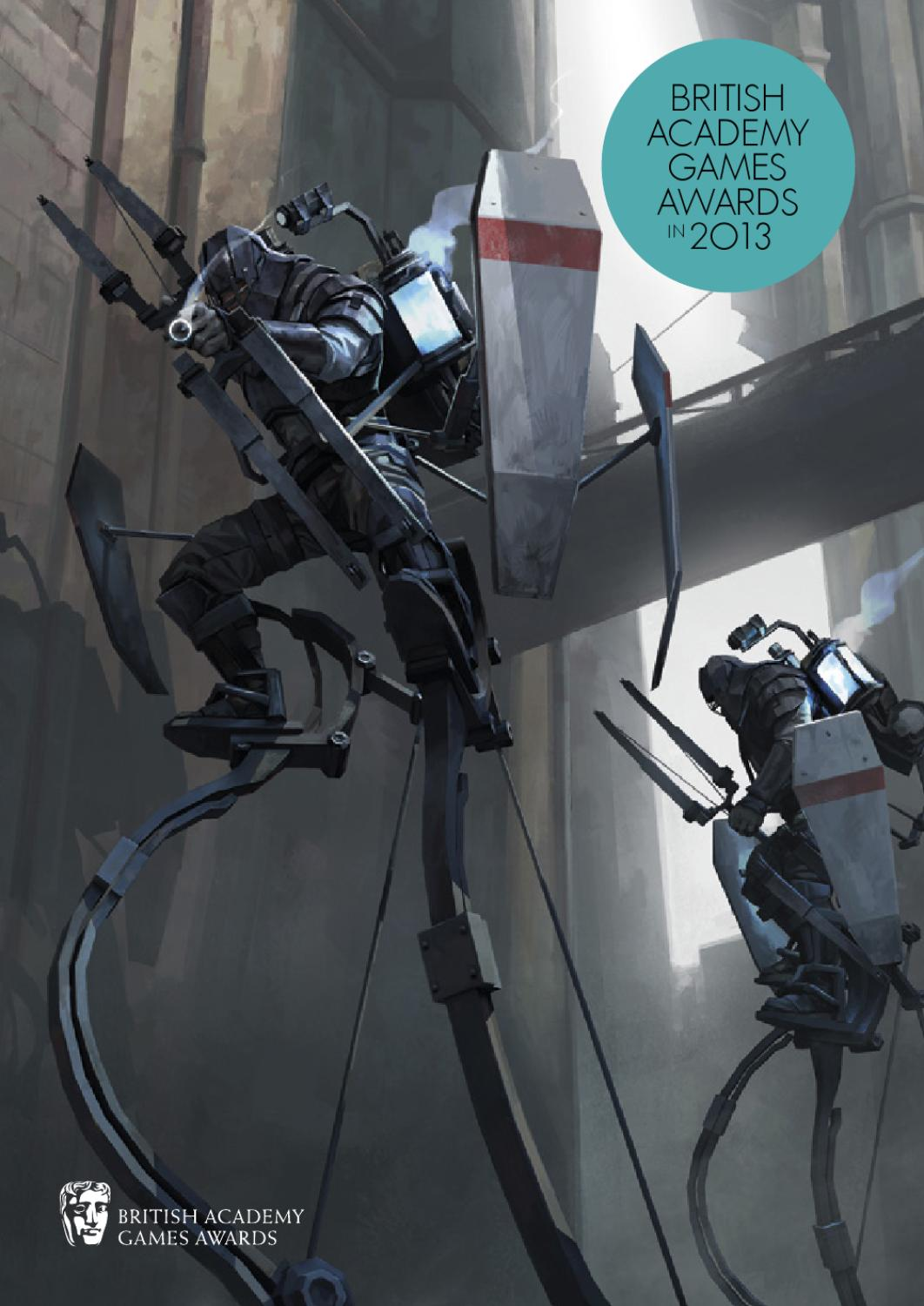 British Academy Games Awards in 2013 - Dishonored variant