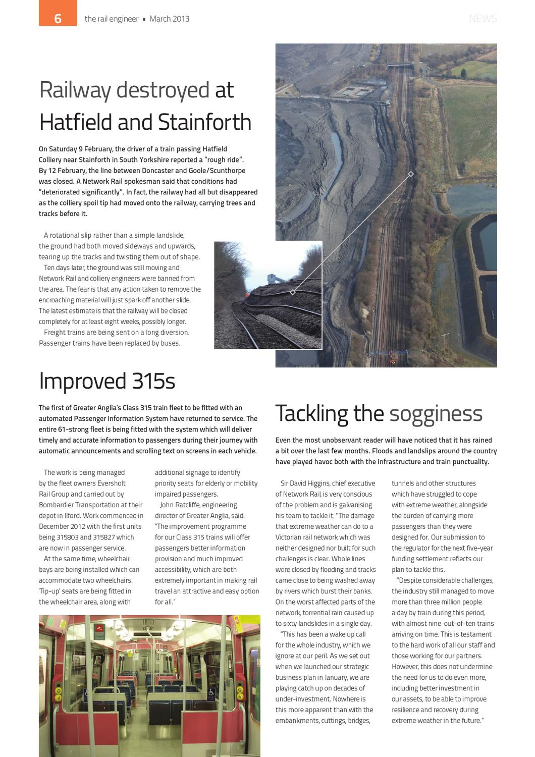 The Rail Engineer - Issue 101 - March 2013 by Rail Media - issuu