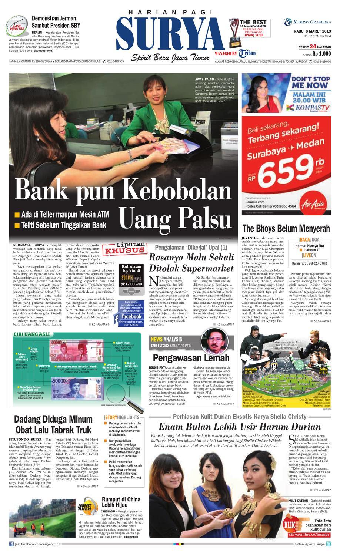 E-paper Surya Edisi 6 Maret 2013 by Harian SURYA - issuu 9fbb5c66b2