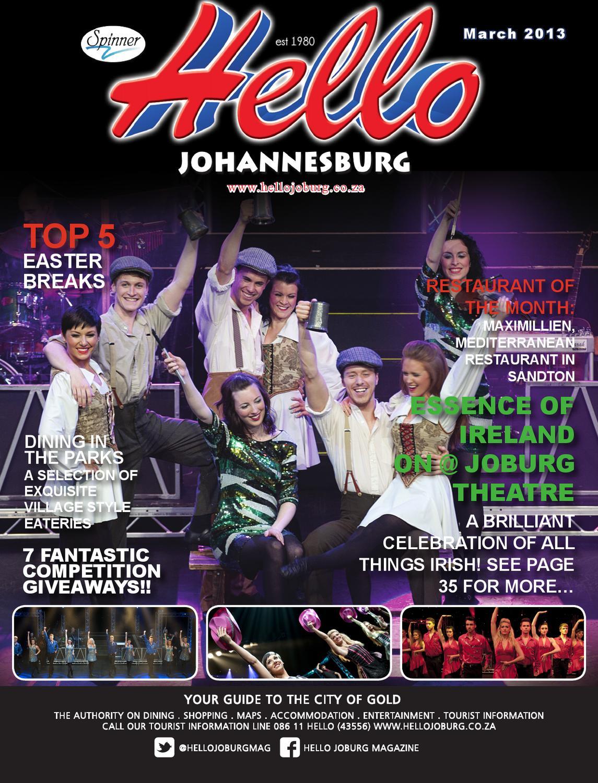 Hello Johannesburg March 2013