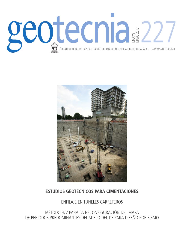 Revista Geotecnia 227 marzo-mayo 2013 by Helios Comunicación - issuu