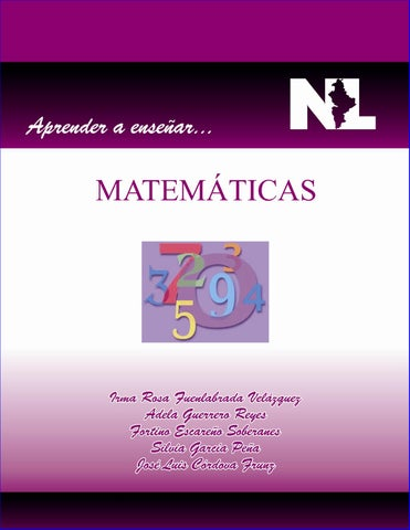 Aprender a Enseñar Matematicas by V.E.A.R. - issuu