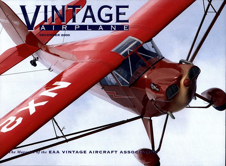 VA Vol 28 No 12 Dec 2000 by EAA Vintage Aircraft Association