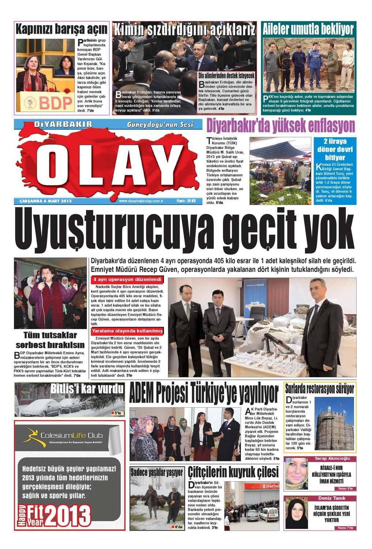 06 03 2013 Gazete Sayfalari By Diyarbakir Olaygazetesi Issuu