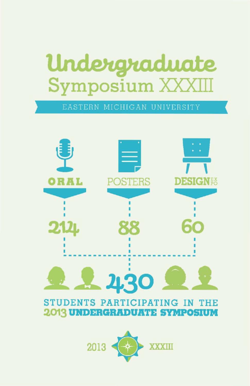EMU Undergraduate Symposium XXXIII by Ryan Molloy - issuu
