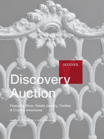 6d687a7c5 Discovery Auction Featuring Silver, Estate Jewelry, Textiles & Country  Americana Sale 2642M