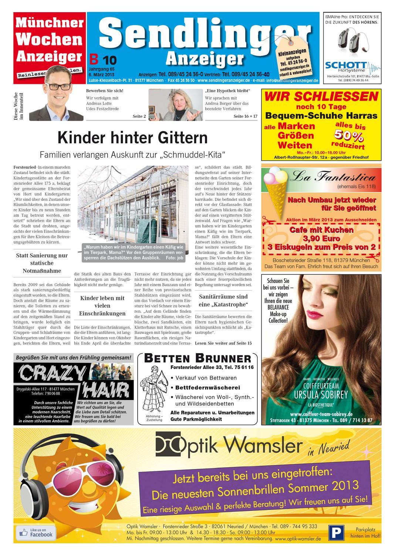 KW 10-2013 by Wochenanzeiger Medien GmbH - issuu