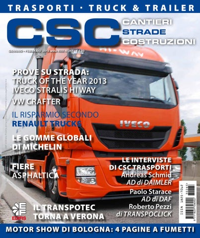 Csc trasporti 2013 01 02 by edifis issuu for Csc motor co inc girard il