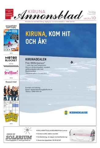 official photos c75d4 2b964 Kiruna Annonsblad 2013 v.10 by Svenska Civildatalogerna AB - issuu