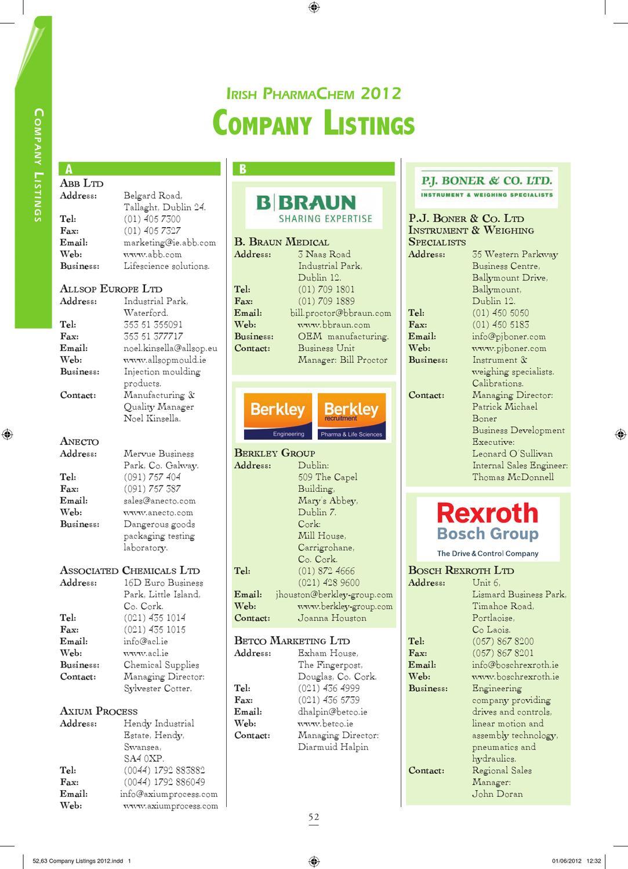 PharmaChem 2012 by Retail News - issuu