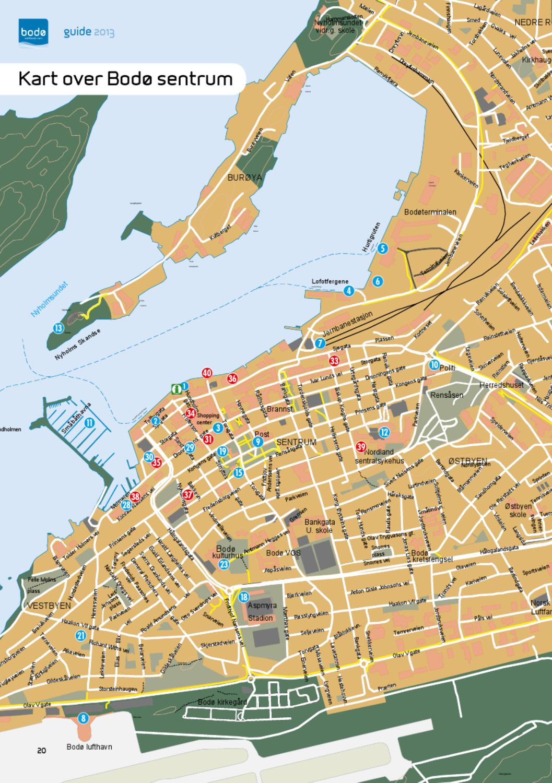 Bodo Guide 2013 Norwegian By Nordnorsk Reiseliv Issuu
