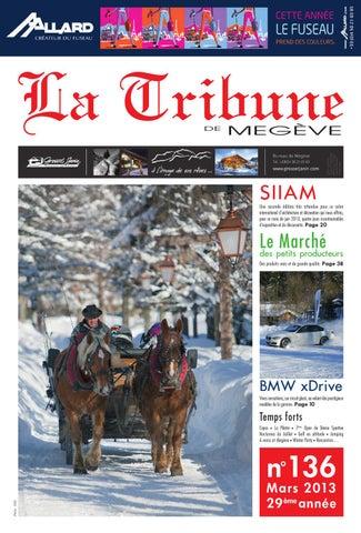LA TRIBUNE DE MEGEVE N°136 by La Tribune de Megève - issuu 07fb6e3b46f7
