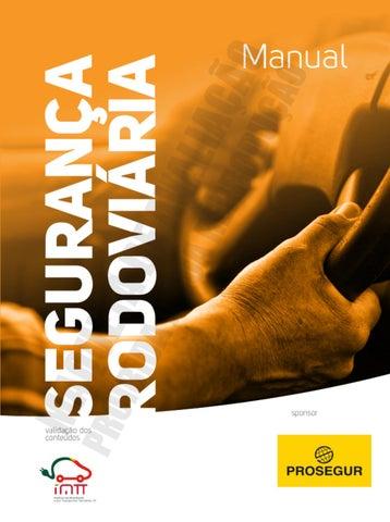 7826199eb40a2 MANUAL DE SEGURANÇA RODOVIÁRIA