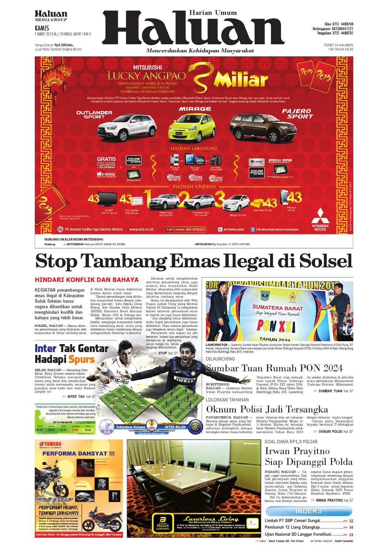 Haluan 07 Maret 2013 by Harian Haluan - issuu 446153a971