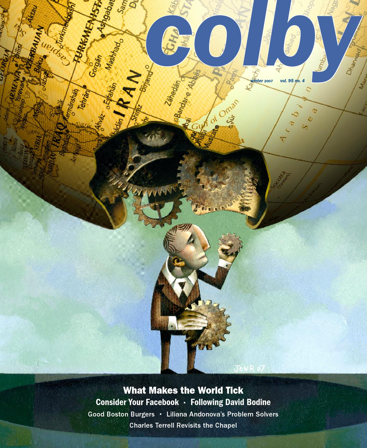Colby Magazine Vol 95 No 4 By College Libraries Issuu Jacobsen Golf Cart Wiring Diagram