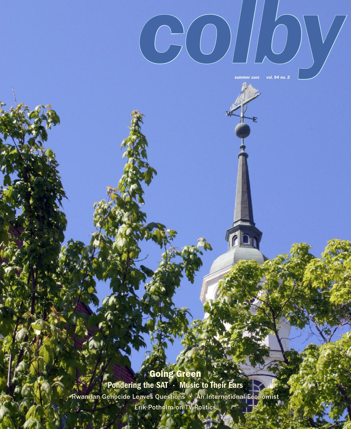 colby magazine vol 94 no 2 by colby college libraries issuu