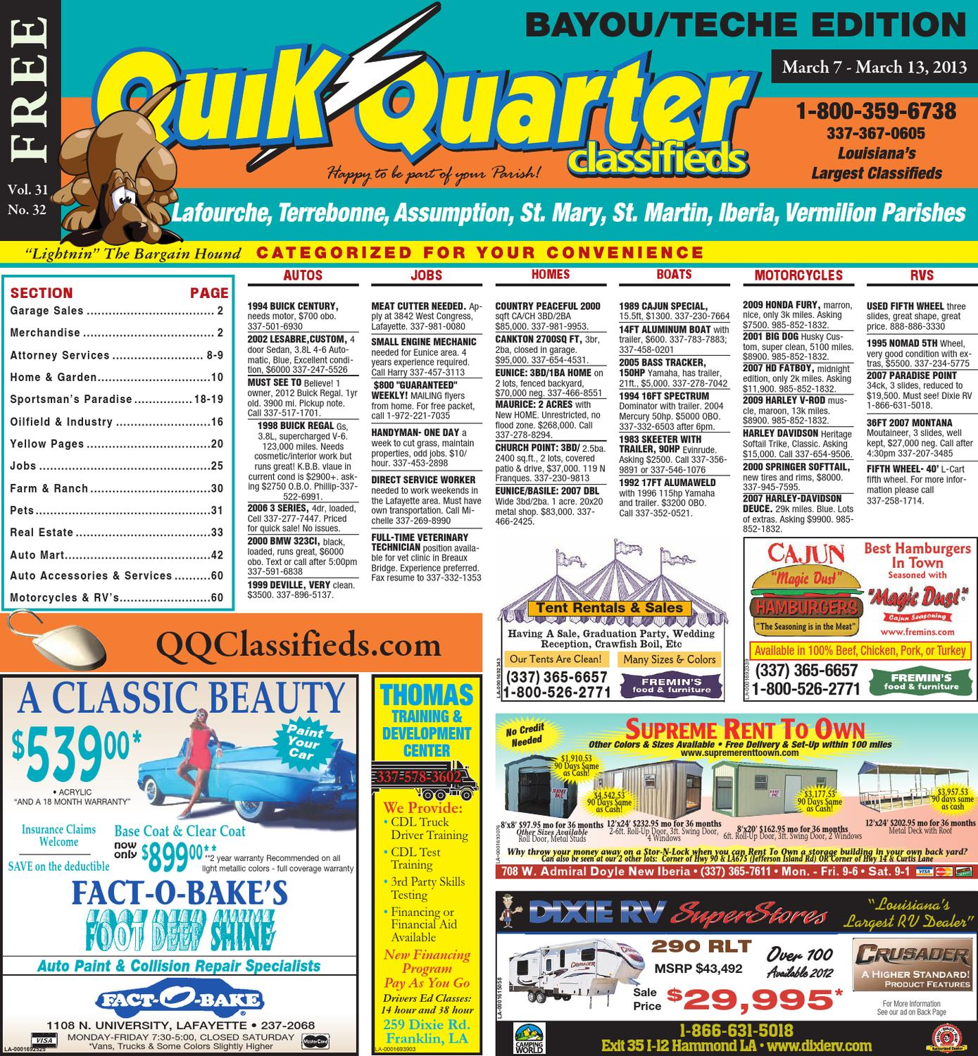 Qq Teche By Part Of The Usa Today Network Issuu Also Case 446 Tractor Wiring Diagram On Exmark Electrical