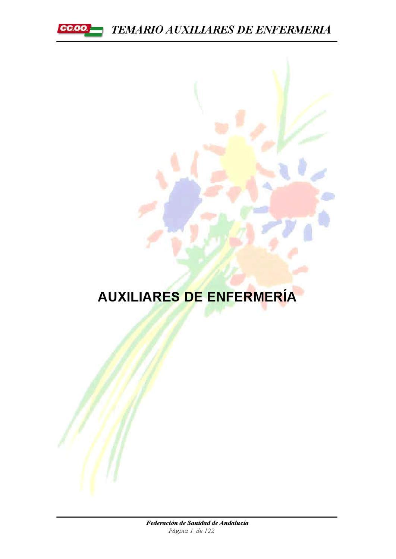 apuntes auxiliar de enfermeria by Cristina V. - issuu