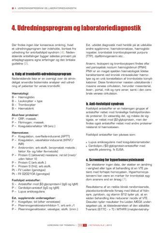 hæmokromatose udredning