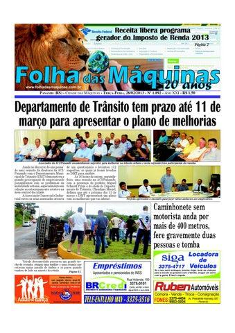 Edição nº 1.892. by Folha das Máquinas - issuu c43c041ac27