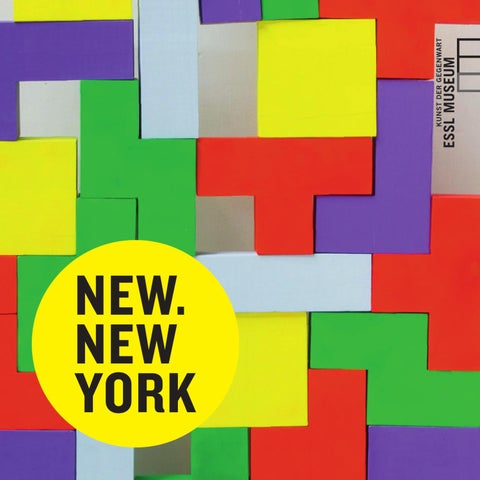 9d57e7cac0 NEW.NEW YORK by Essl Museum - issuu